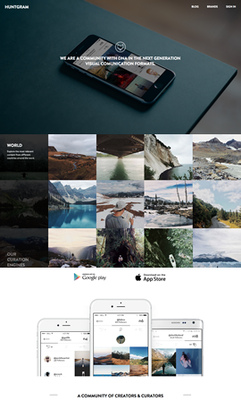 Huntgram App